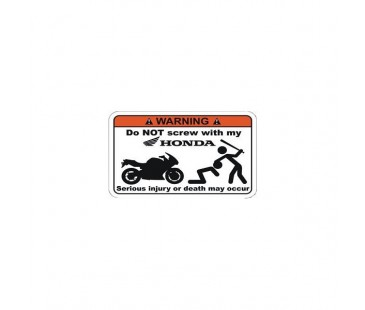 Hondama Dokunma Sticker