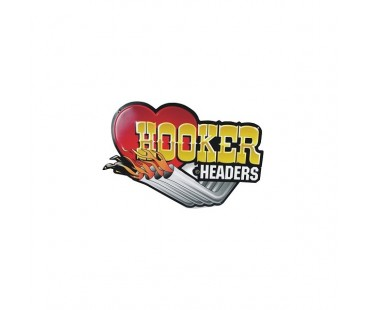 Hooker Sticker,wintage sticker