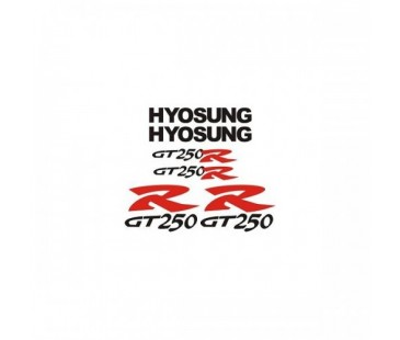 Hyosung Gtr 250 Sticker Set