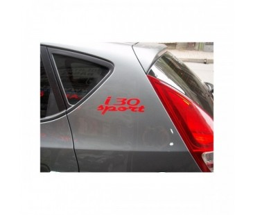 Hyundai i30 Sport Sticker Set
