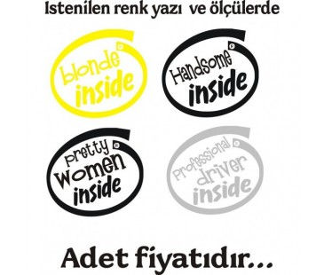 İnside Sticker
