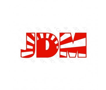 Japon Jjdm Sticker