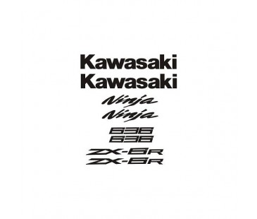 Kawasaki 636 Sticker Set