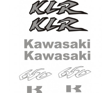 Kawasaki Klr 650 Sticker Set