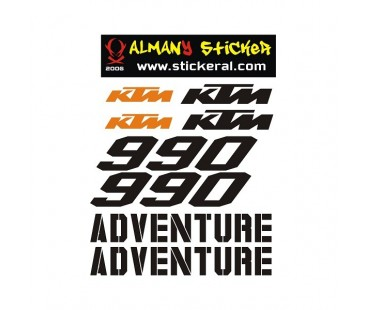 Ktm 990 Sticker Set