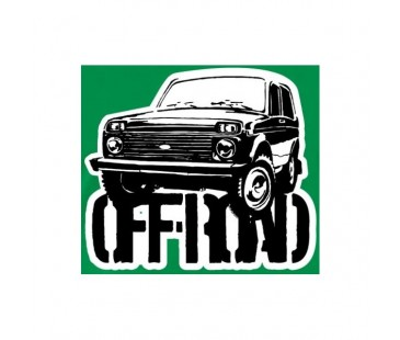 Lada Off Road Sticker