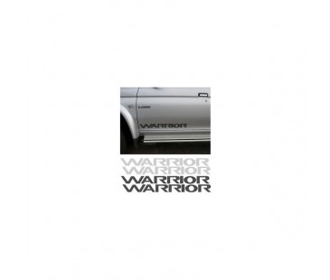 Mitsubishi Warrior Sticker