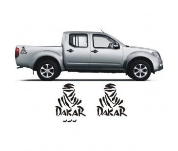 Navara Dakar Sticker