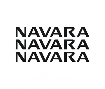 Navara Sticker Set