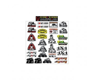 Off Road Sticker Set