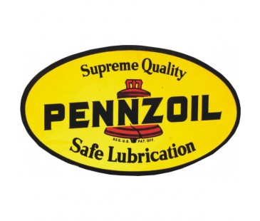 Pennzoil Sticker,klasik otomobil sticker,eski stickerlar