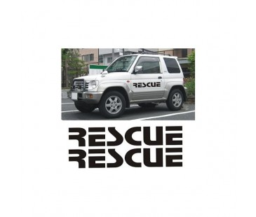 Rescue Jeep Sticker