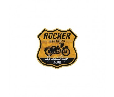 Rocker Sticker,wintage