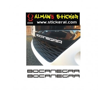 Seat Bocanecra Sticker