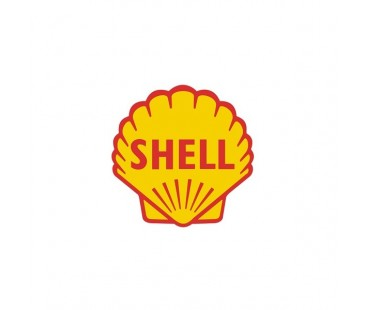 Shell old Sticker