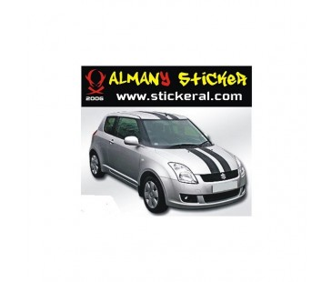 Suzuki Swift Komple Şerit Sticker