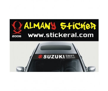 Suzuki Swift Ön Cam Sticker