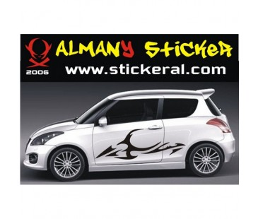 Suzuki Swift Yan Sticker Set-2