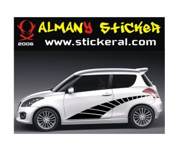 Suzuki Swift Yan Sticker Set-3