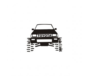 Toyota Jeep Sticker