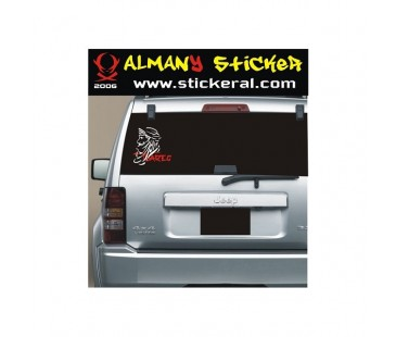 Tuareg Sticker -1