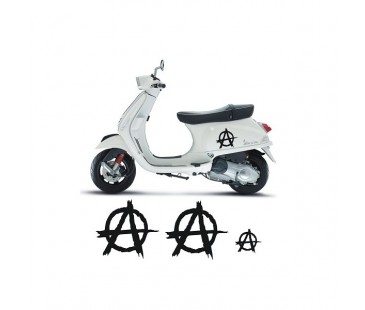 Vespa Anarchy Sticker