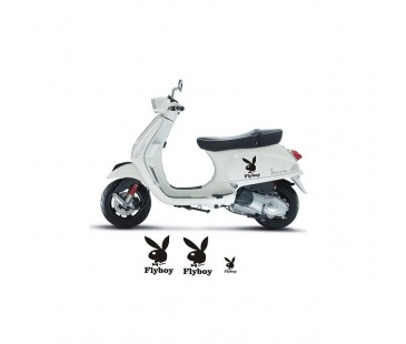 Vespa Playboy Sticker