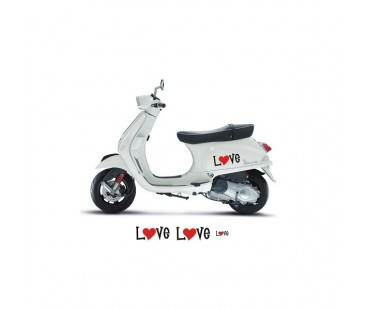 Vespa Love Sticker