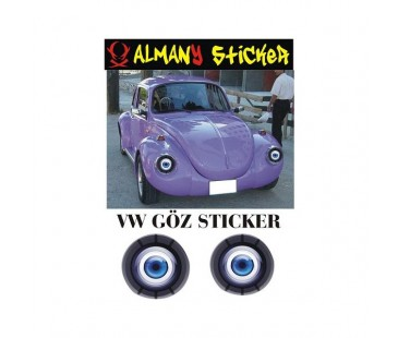 Vw Göz Sticker