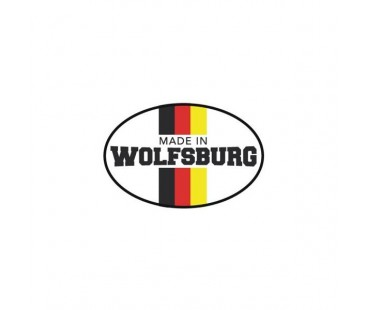 Wolkswagen wolfsburg sticker.oto sticker