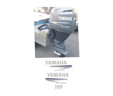 Yamaha 100 hp sticker set