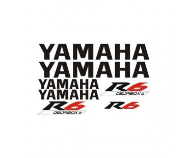 Yamaha R6 Sticker Set